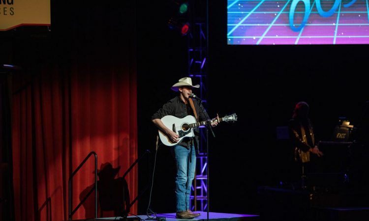 Tri-State's Got Talent winner Brandon McCarty performs his original song (Photo provided by David Arthur Photography)