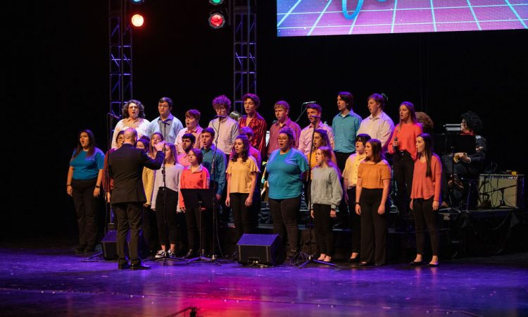 "Evansville Central High School's Concert Choir sings ""True Colors"" (Photo provided by David Arthur Photography)"