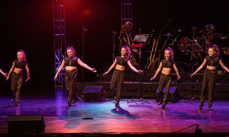"Some of Studio Vibe's dancers returned to the stage to perform a tap routine to ""1+1"" (Photo provided by David Arthur Photography)"