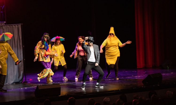 14News Sunrisers took us through the decades during their lip sync performance (Photo provided by David Arthur Photography)