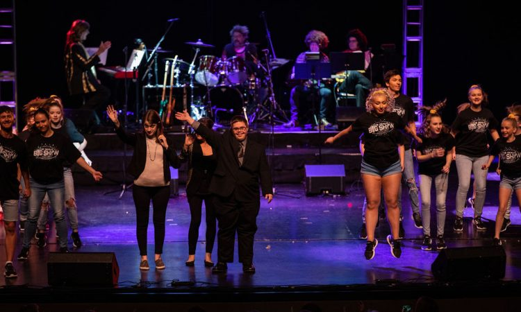 "Cast members danced to ""Don't Stop Believin'"" for this year's finale (Photo provided by David Arthur Photography)"
